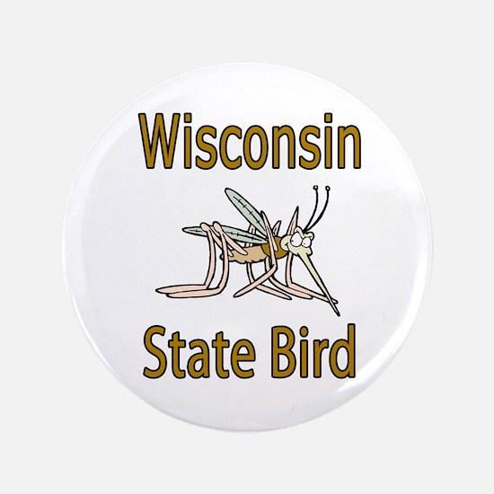 """Wisconsin State Bird 3.5"""" Button"""