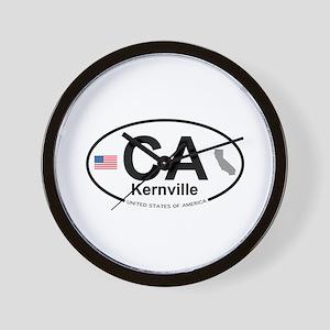 Kernville Wall Clock