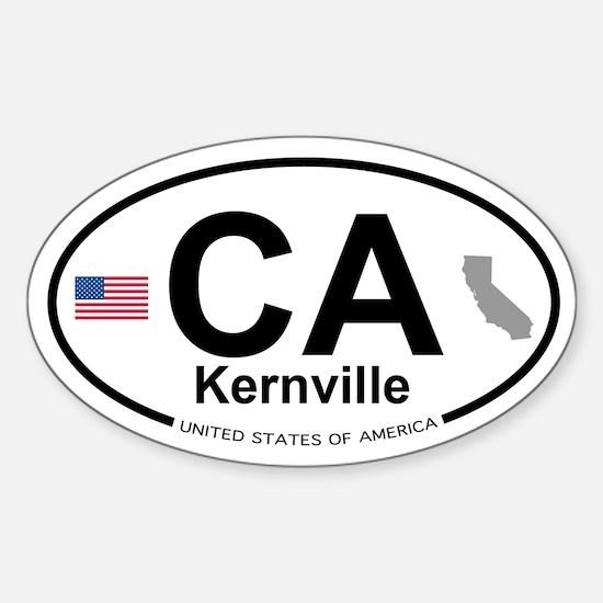 Kernville Sticker (Oval)