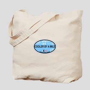 Avalon NJ - Oval Design Tote Bag