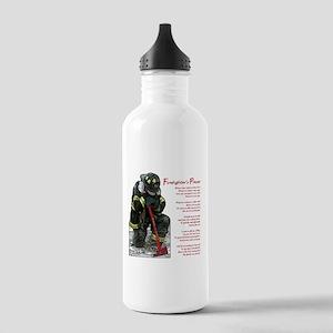 Firefighter Prayer Stainless Water Bottle 1.0L