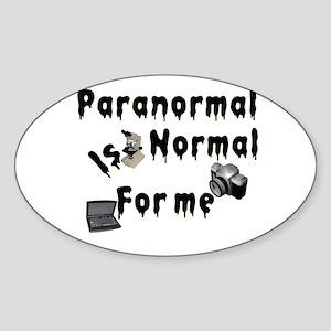 Paranormal Designs Sticker (Oval)