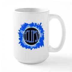 Eclipse Blue Large Mug