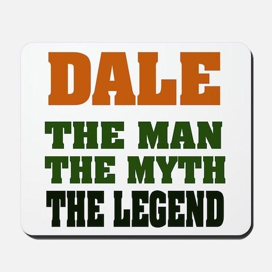 DALE - The Legend Mousepad