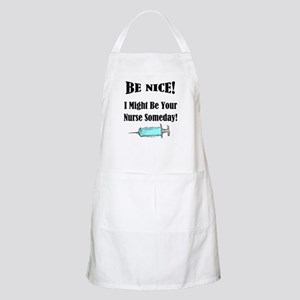 Funny Nurse Saying Apron