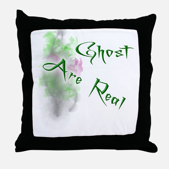 Ghost Are Real Throw Pillow