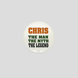 CHRIS - The Legend Mini Button