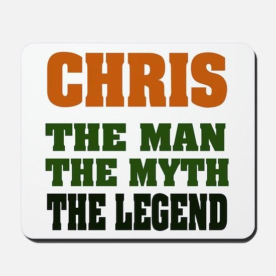 CHRIS - The Legend Mousepad