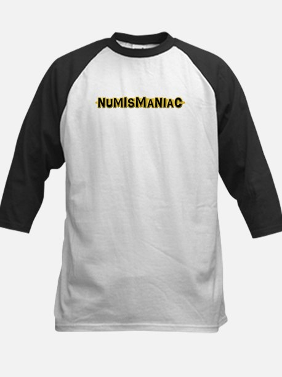 Numismaniac Kids Baseball Jersey