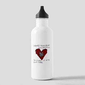 Heart Broken Stainless Water Bottle 1.0L