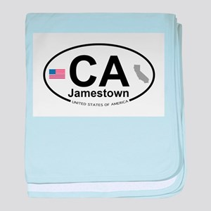 Jamestown baby blanket