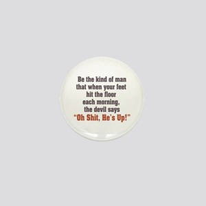 Be the Kind of Man Mini Button