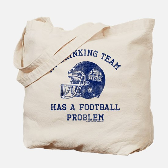 Blue Mountain State Drinking Team Tote Bag