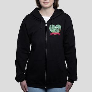 Snoopy Woodstock Nursing School Women's Zip Hoodie
