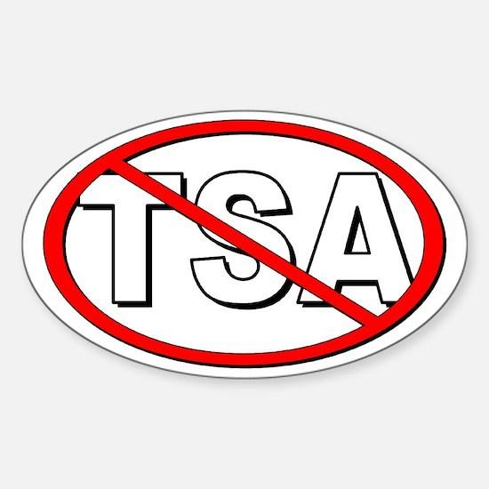 Anti-TSA Sticker (Oval)