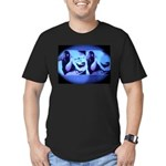 Bai Ling Men's Fitted T-Shirt (dark)