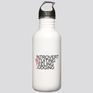 INFJ Spelled Out Stainless Water Bottle 1.0L