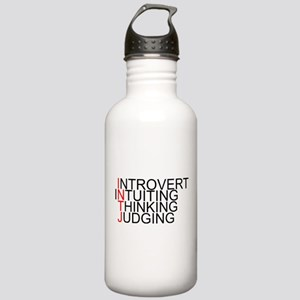 INTJ Spelled Out Stainless Water Bottle 1.0L