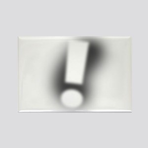 Exclamation Point! Rectangle Magnet