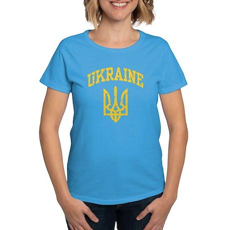 Ukraine Women's Dark T-Shirt