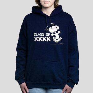 Snoopy Class of XXXX Women's Hooded Sweatshirt
