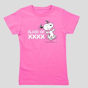 Snoopy Class of XXXX Girl's Tee