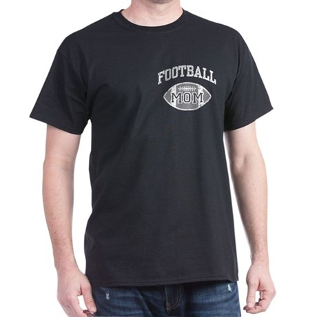 Football Mom Dark T-Shirt