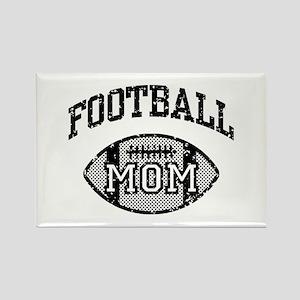 Football Mom Rectangle Magnet