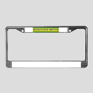 Designated Driver II License Plate Frame