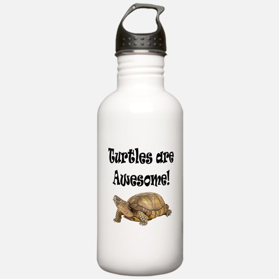 AWESOME TURTLE Water Bottle