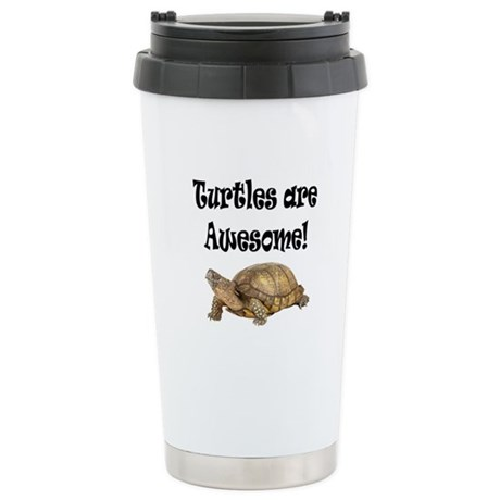 AWESOME TURTLE Stainless Steel Travel Mug