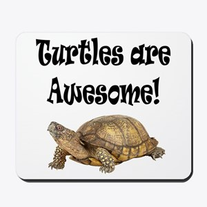 AWESOME TURTLE Mousepad