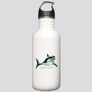 Great White Stainless Water Bottle 1.0L