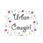 Urban Cowgirl Postcards (Package of 8)