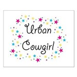 Urban Cowgirl Small Poster