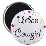"Urban Cowgirl 2.25"" Magnet (100 pack)"