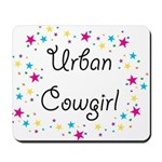 Urban Cowgirl Mousepad