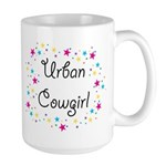 Urban Cowgirl Large Mug