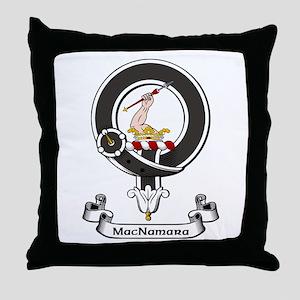 Badge - MacNamara Throw Pillow