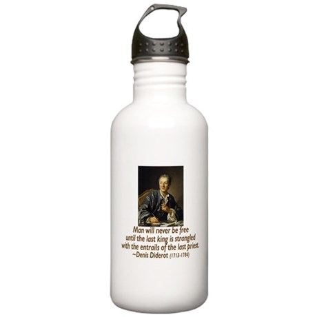 No Kings, No Priests Stainless Water Bottle 1.0L