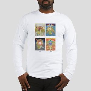 Four Archangels Long Sleeve T-Shirt