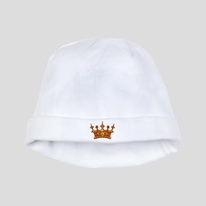 Gold Leaf Crown baby hat