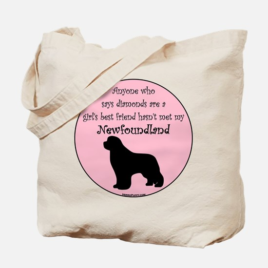 Girls Best Friend Tote Bag