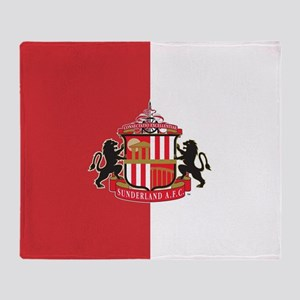 Sunderland AFC Crest Throw Blanket