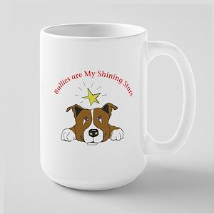 Bullies Are My Shining Star Large Mug