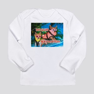 Doggie Baywatch Long Sleeve Infant T-Shirt