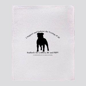 L2-HGA, HC & PHPV Support Throw Blanket