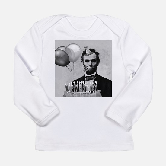 Lincoln's Birthday Long Sleeve Infant T-Shirt