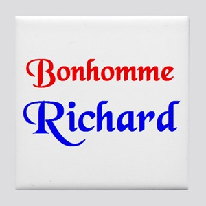 bonhomme richard Tile Coaster