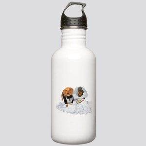 Wedding Dachshunds Dogs Stainless Water Bottle 1.0